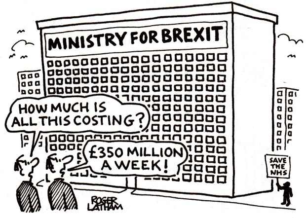 Ministry for Brexit (Cartoon)